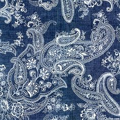 eQuilter Pristine Paisley - Palace Dreams - Denim