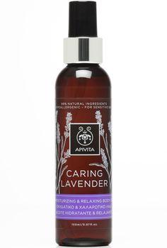 Apivita Caring Lavender Oil Ενυδατικό & Χαλαρωτικό Λάδι Σώματος με Βιολογικό Αιθέριο Έλαιο Λεβάντας 150ml. Μάθετε περισσότερα ΕΔΩ: https://www.pharm24.gr/index.php?main_page=product_info&products_id=12410