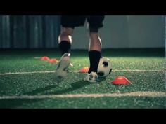 Soccer Drill: Better Soccer Drills - Dribbling Drill #1 - YouTube