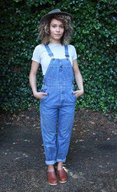 Vintage Oshkosh B'Gosh Denim Overalls Size 27