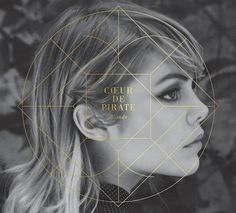 Coeur de Pirate - Blonde (2011) album art #design