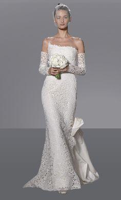 The dream... Oscar de la Renta wedding dress