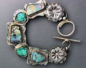 opal and turquoise, very nice handmade Temi Kucinski, Buffalo NY, when I have three hundo laying...