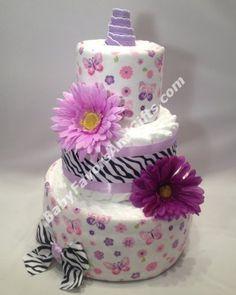 Baby shower gift ideas, Diaper cake