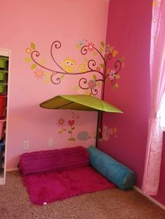 Reading nook play room