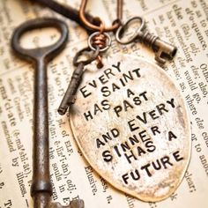 Every saint has a past, and every sinner has a future. We are always Sinner and Saint. Life Quotes Love, Great Quotes, Inspirational Quotes, Awesome Quotes, Motivational Quotes, Clever Quotes, Motivational Thoughts, Remember Quotes, Fabulous Quotes