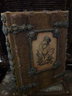 Medium Art, Mixed Media Art, Book, Crafts, Decor, Wooden Chest, Manualidades, Decoration, Mixed Media