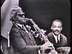 Roland Kirk is featured playing an obscure  saxophone known as a stritch with a quartet  including Spanish jazz pianist Tete Montoliu.   This strange long type of alto sax can  be exceptional when in the right hands,  as proven here. / Roland Kirk with Tete Montoliu - A Cabin in the Sky