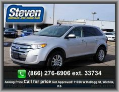 2013 Ford Edge Limited SUV   Tires: Profile: 60, 4-Wheel Abs Brakes, Fuel Consumption: City: 18 Mpg, Max Cargo Capacity: 69 Cu.Ft., Clock: In-Dash, Tilt And Telescopic Steering Wheel, Regular Front Stabilizer Bar, Surround Audio, Seatbelt Pretensioners: Front, Split Rear Bench,