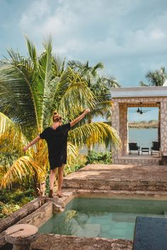 Made the perfect day trip from Tulum to stay at Coqui Coqui Coba for a night. The perfect place to relax, explore the Yucatan and visit the Mayan ruins #mexico