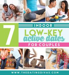 Relaxing indoor dates for couples!