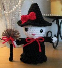 Free Amigurumi Patterns: Amigurumi Kitty Witch