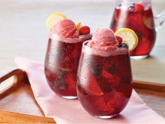 This will be added to my spring/summer list - Sorbet Sangria Sipper