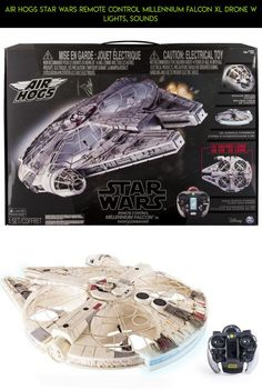 Air Hogs Star Wars Remote Control Millennium Falcon XL Drone w Lights, Sounds #racing #plans #tech #products #gadgets #kit #drone #parts #shopping #air #6027168 #hogs #fpv #camera #technology