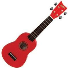 Ukelele!!! I have one only mine is light pink... I'm going to get really good at playing this!