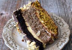 Tort orzechowo-migdałowo-czekoladowy – Smaki na talerzu Meatloaf, Banana Bread, Food And Drink, Cooking Recipes, Sweet, Gardening, Cakes, Pies, Food Recipes