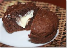 Was cookst Du heute: Brownie - Muffin mit flüssigem Kern