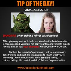 facial animation tip