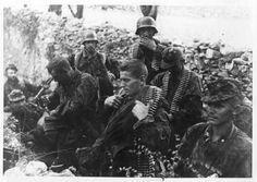 Soldiers of 7. SS-Freiwilligen-Gebirgs-Division 'Prinz Eugen'