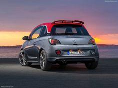 Opel Adam S 2015 Back View