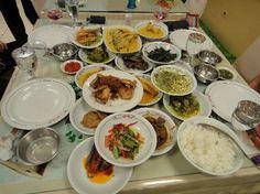 Padang restaurant food!
