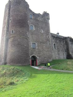 In thetelevision adaptation, of OUTLANDER,Doune Castlewas used as the exterior of the fictional Castle Leoch. Production designers used molds of the architecture at Doune Castle to build sets at the studio, where the interior castle shots were filmed. (Doune Castle may look familiar to fans ofMonty Python and the Holy Grail. The castle was used extensively during the filming of the 1974 movie.)