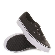 Black Glitter Vans- got mine this weekend. So much more comfortable than Converse!