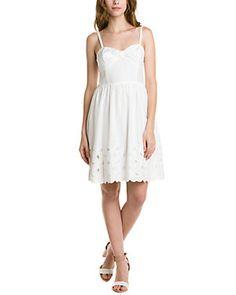 "Trina Turk ""Love Love"" White Wash Dress"
