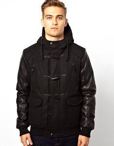 Brave Soul Hooded Duffle Coat - $99