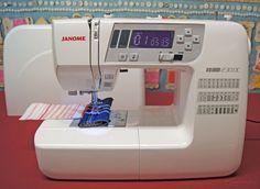 Janome 230 DC Nähmaschine - Limited Jeans Edition #ohne Anschiebetisch