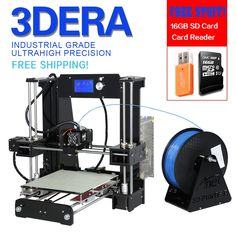 260.88$  Buy here - http://ainyw.worlditems.win/all/product.php?id=32673961960 - Updated Anet A6 3d-printer diy Size 220*220*250 Precision Reprap Prusa i3 DIY 3D Printer Kit Full Acrylic Card Video Tools Free