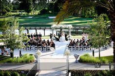 Ceremony on the Signature Island. - Waldorf Astoria Orlando