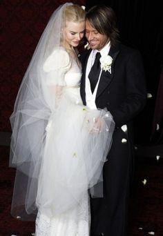 Nicole Kidman vestito da sposa