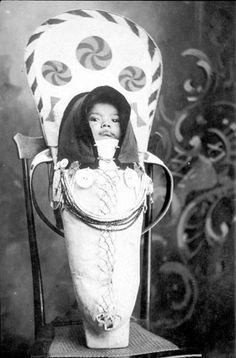 Nez Perce baby - no date
