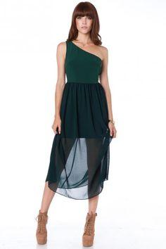 { Delacourte One Shoulder Dress [$64] }