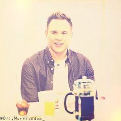 Breakfast with Olly :D