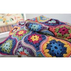 Mystical Lanterns Blanket Kit by Jane Crowfoot using StyleCraft Life DK