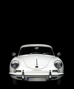 :: DESIGN :: Although I am a modernist, I still covet the timeless design of vintage cars something quite beautiful about this one ... and in my favourite white #design #cars #white