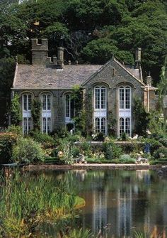 House Exterior Dream Homes Storybook Cottage Ideas Beautiful Buildings, Beautiful Homes, Beautiful Places, House Beautiful, Architecture Design, French Architecture, Sustainable Architecture, Residential Architecture, Contemporary Architecture