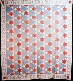 Barbara Brackman's MATERIAL CULTURE: Temperance Quilts 2: Sons of Temperance Star