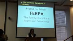 One Mom's request to Heber School board to maintain FERPA Laws. Utahn's Against Common Core