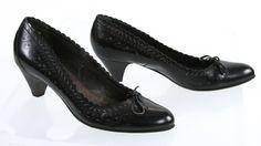 Vero Cuoio Vogue Dona Scallop Trim Embellished High Heel Pump 7 #Vogue #PumpsClassics #SpecialOccasion