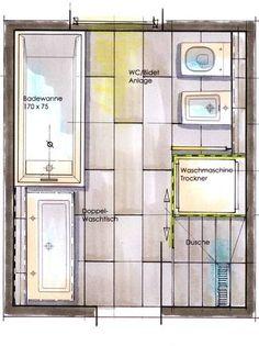 badezimmer mit waschmaschine und trockner - google keresés, Hause ideen
