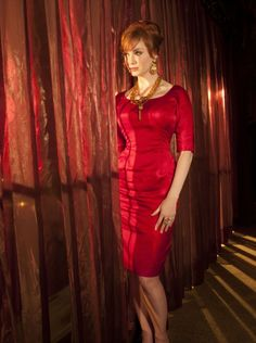 Christina Hendricks. I love when a curvy woman is celebrated :)