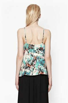 ISLA RIPPLE STRAPPY TOP - Tops - French Connection Usa
