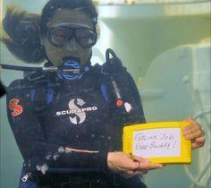 WOMENS Im A Diver diver tank mask funny Birthday GIRLIE TRAINING VEST
