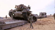 IDF Magach 3 tank during Yom-Kippur War.