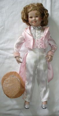 Genuine Danbury Shirley Temple Collectable Porcelain Doll | eBay