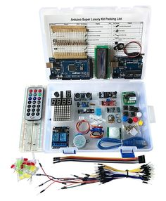 30% off for Super Luxury Starter DIY Projects Kit w/ UNO R3 & Mega2560 Board for Arduino #OSOYOO