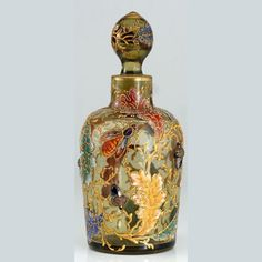 This perfume bottle from the late 1800s is stunning!